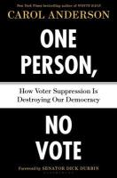 one person no vote